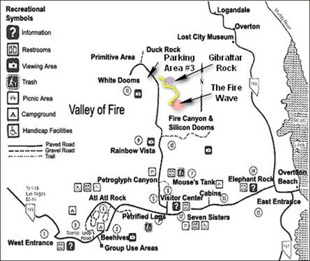 Valley Of Fire Map Las Vegas In 2019 Valley Of Fire