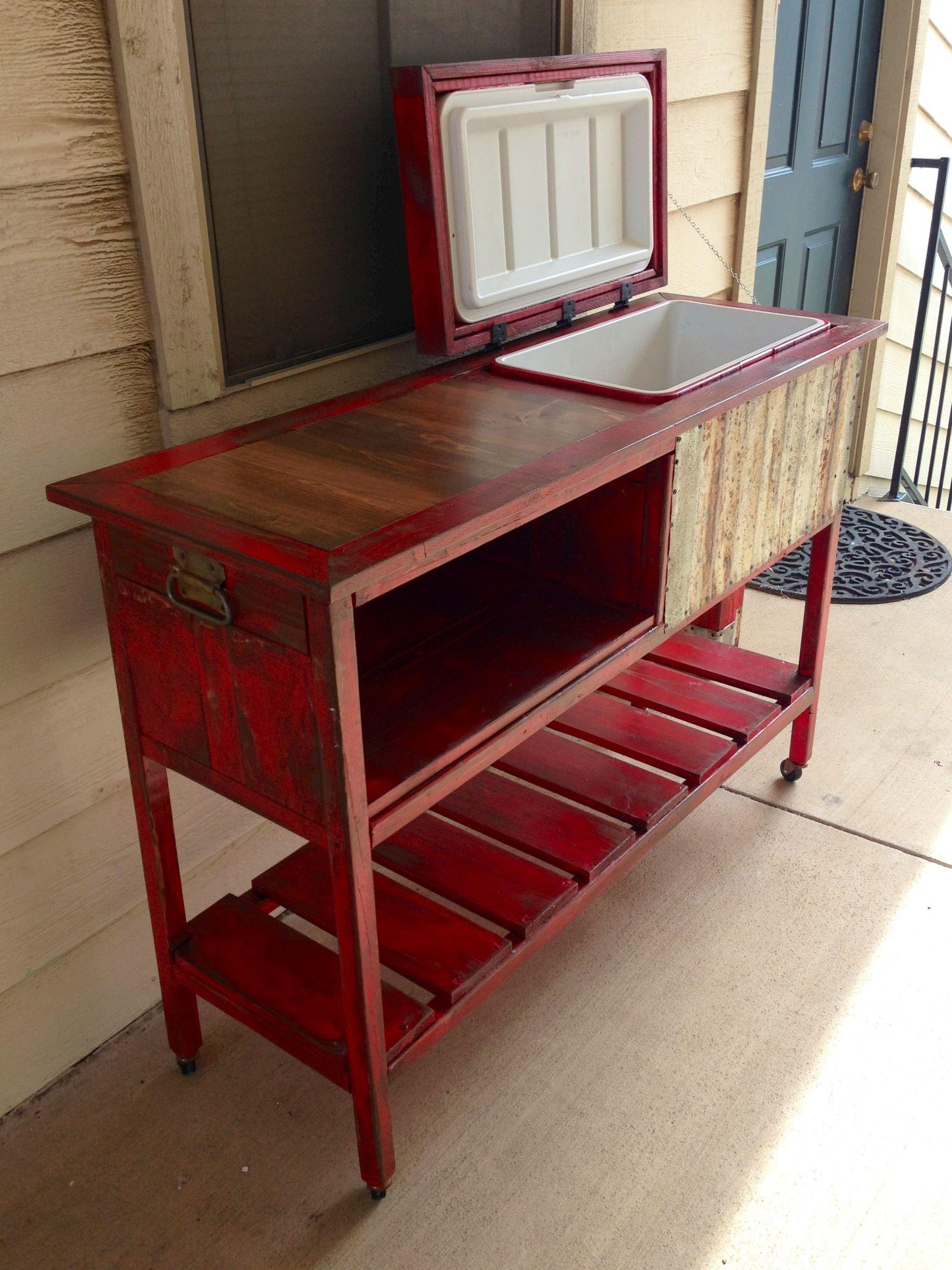 My Cowboy Cooler I Built Diy Crafts Pinterest