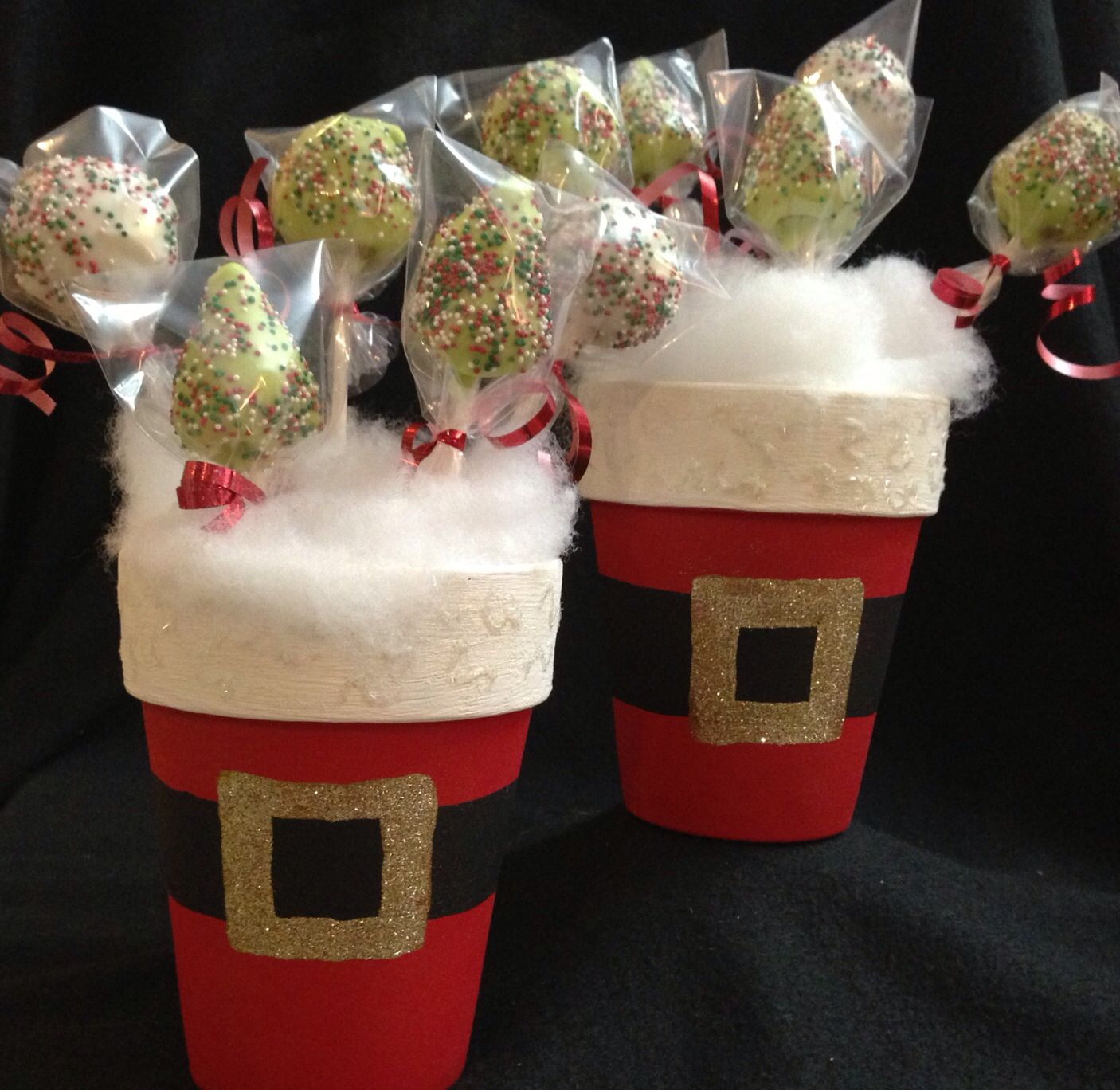 Christmas cake pop gift ideas Cake Pops Pinterest