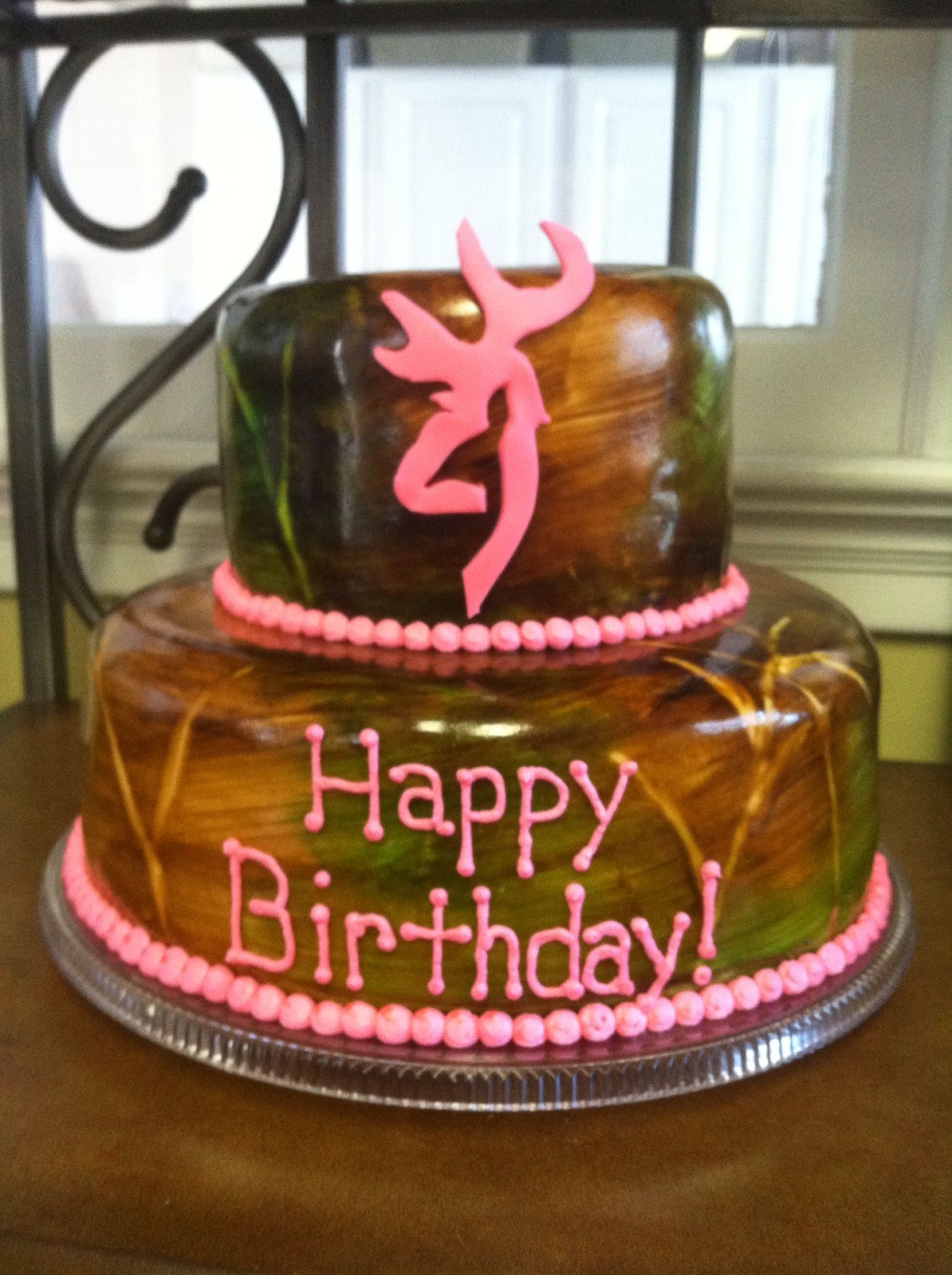 Pin Camo Birthday Cakes For Girls
