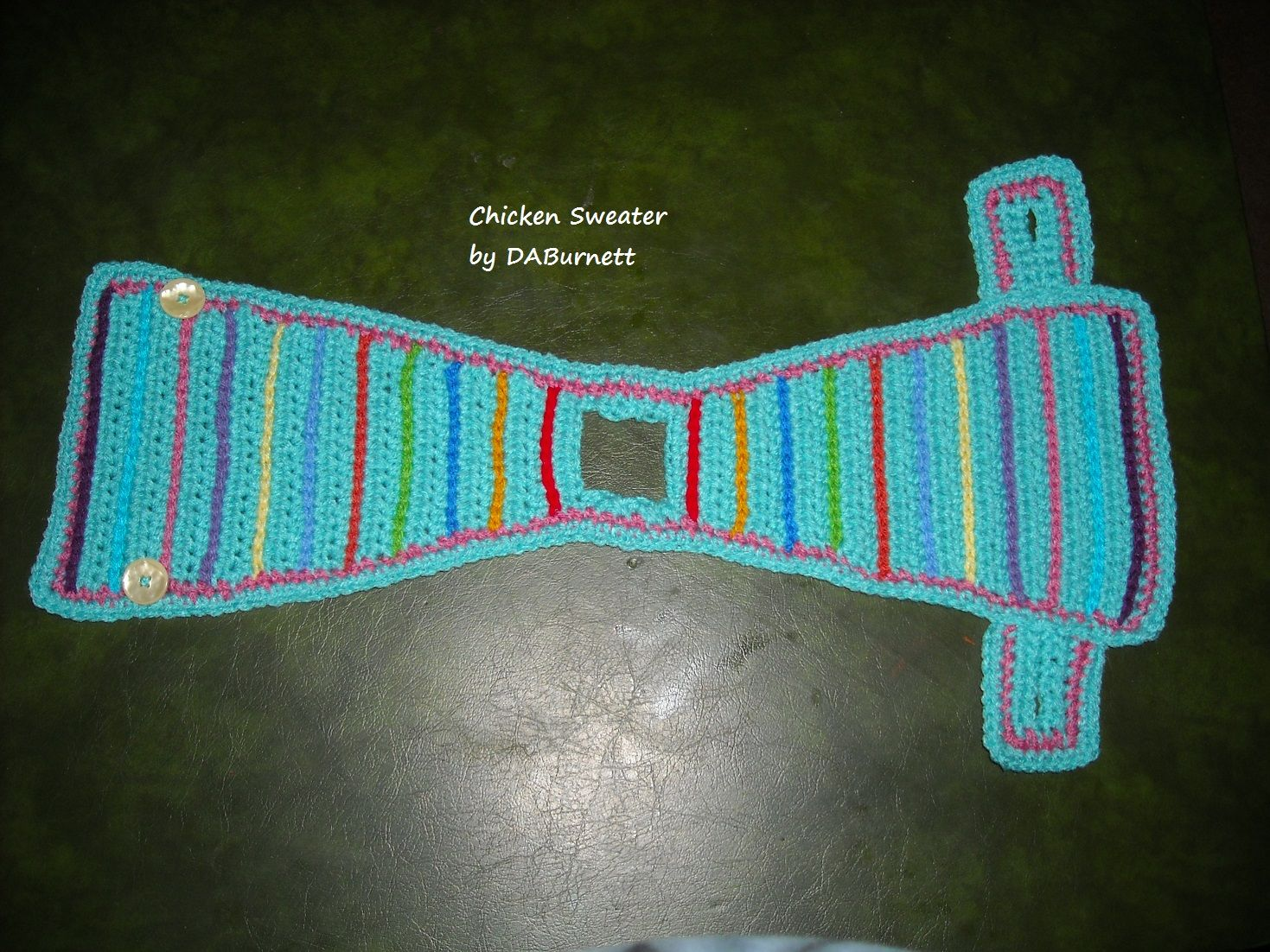 Knitting Pattern For Chicken Jumpers : Crocheted Chicken Sweater Crocheting Pinterest