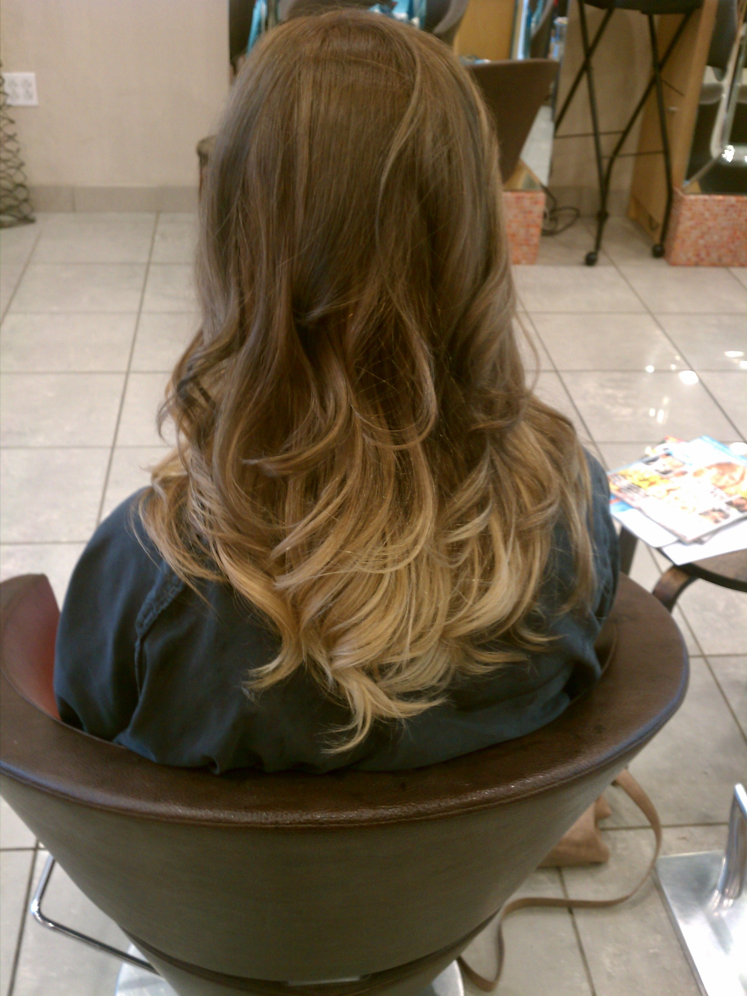 Light brown and blonde ombre ombre hair pinterest for Blond braun ombre