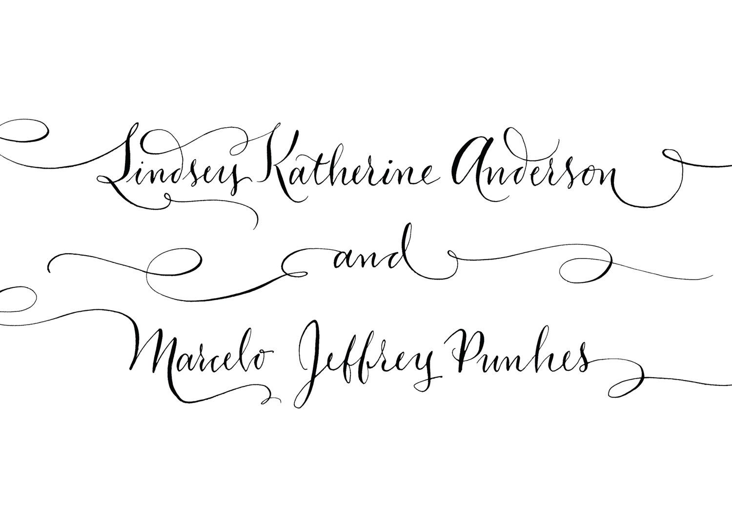 Calligraphy Alphabets Byillustrated Fancy Alphabet Offers Free