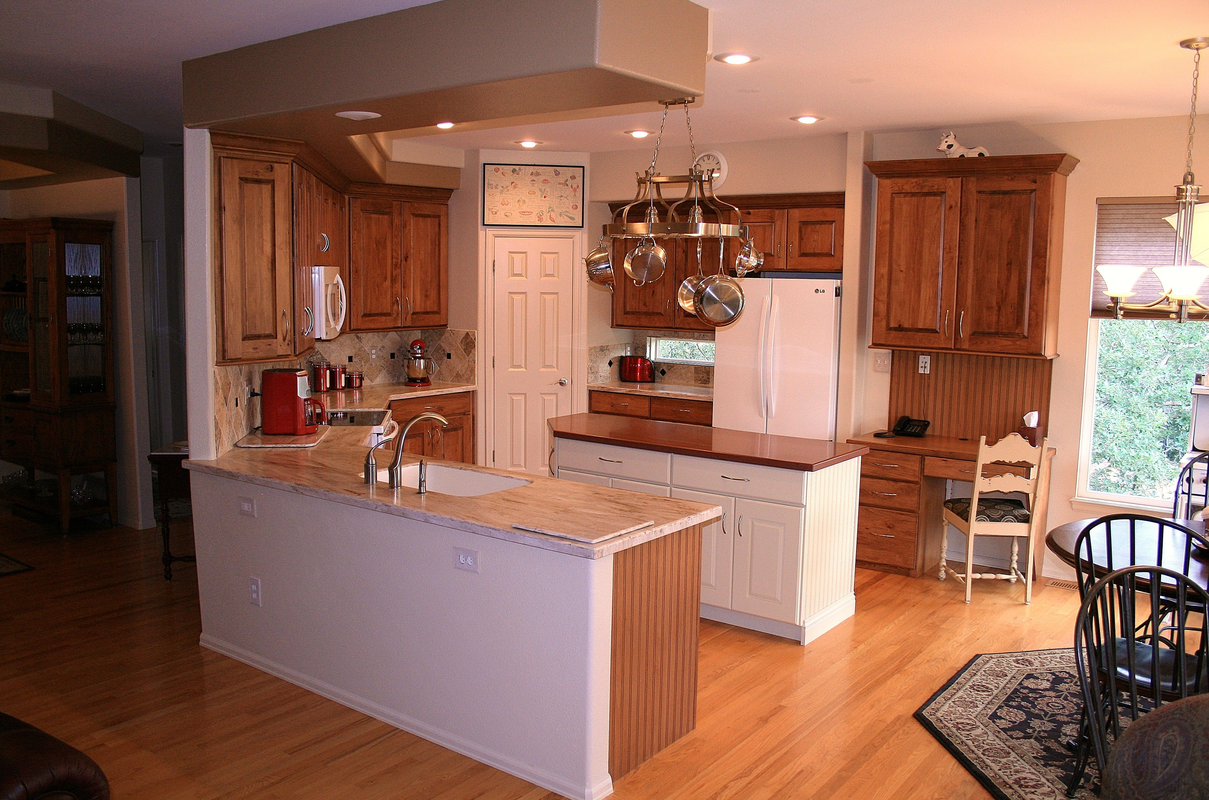 U shaped kitchen with island in middle company projects for U shaped kitchen