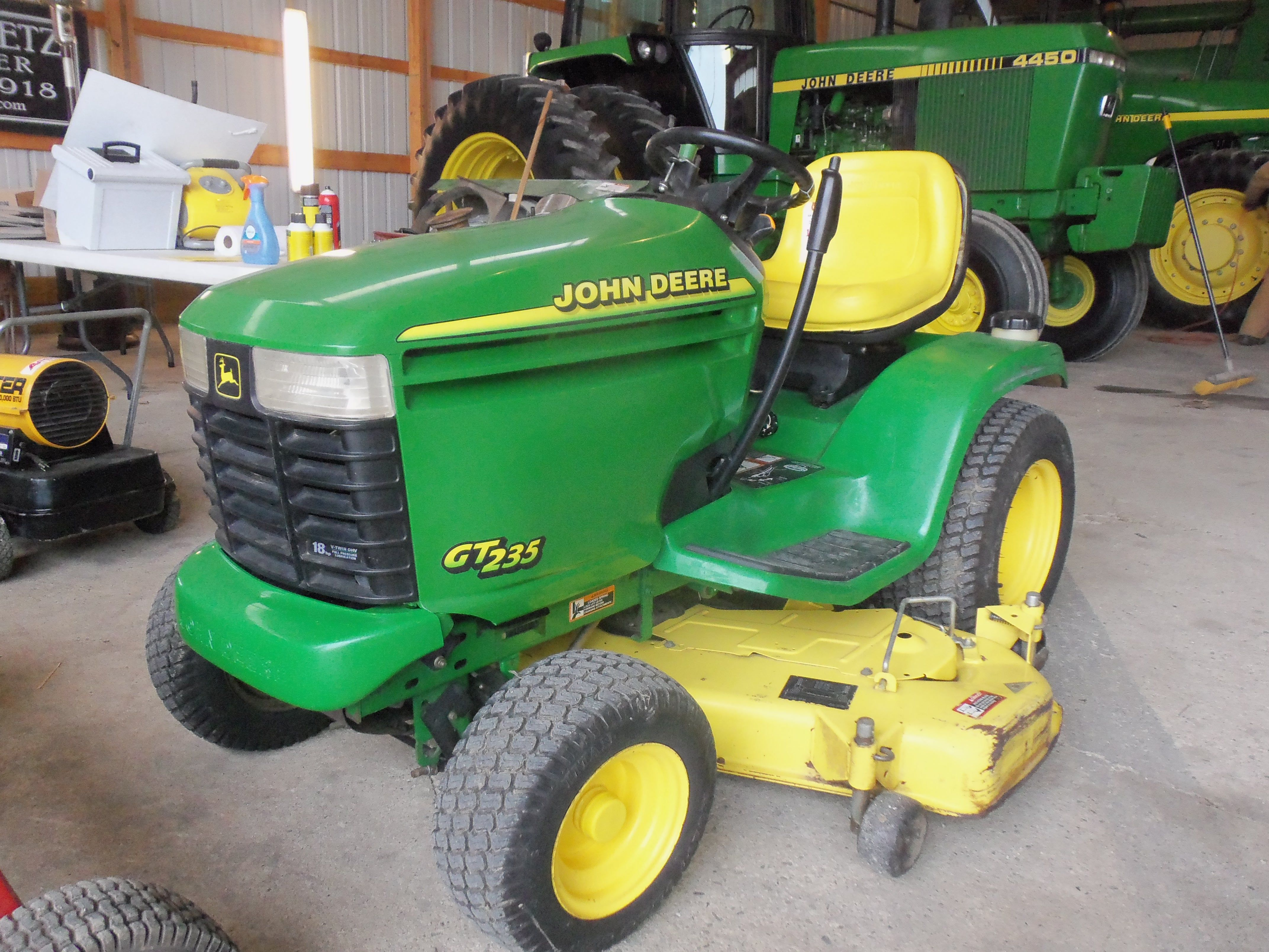 louis bader st tractor auctions deere michigan garden tractors case s sons in ring john deck dealer lawn mower