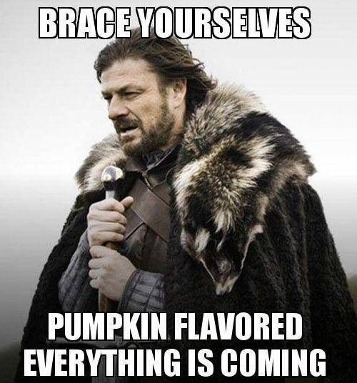 Pumpkin Flavored Everything