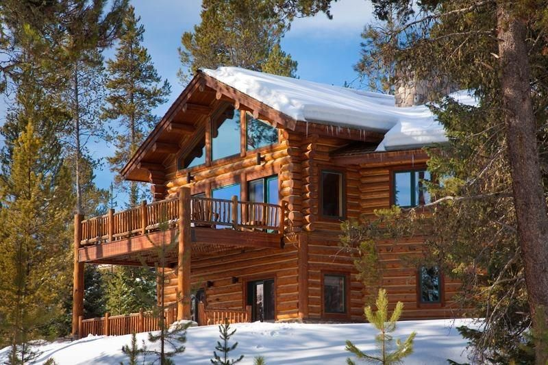 Beautiful country log homes pinterest Country log home