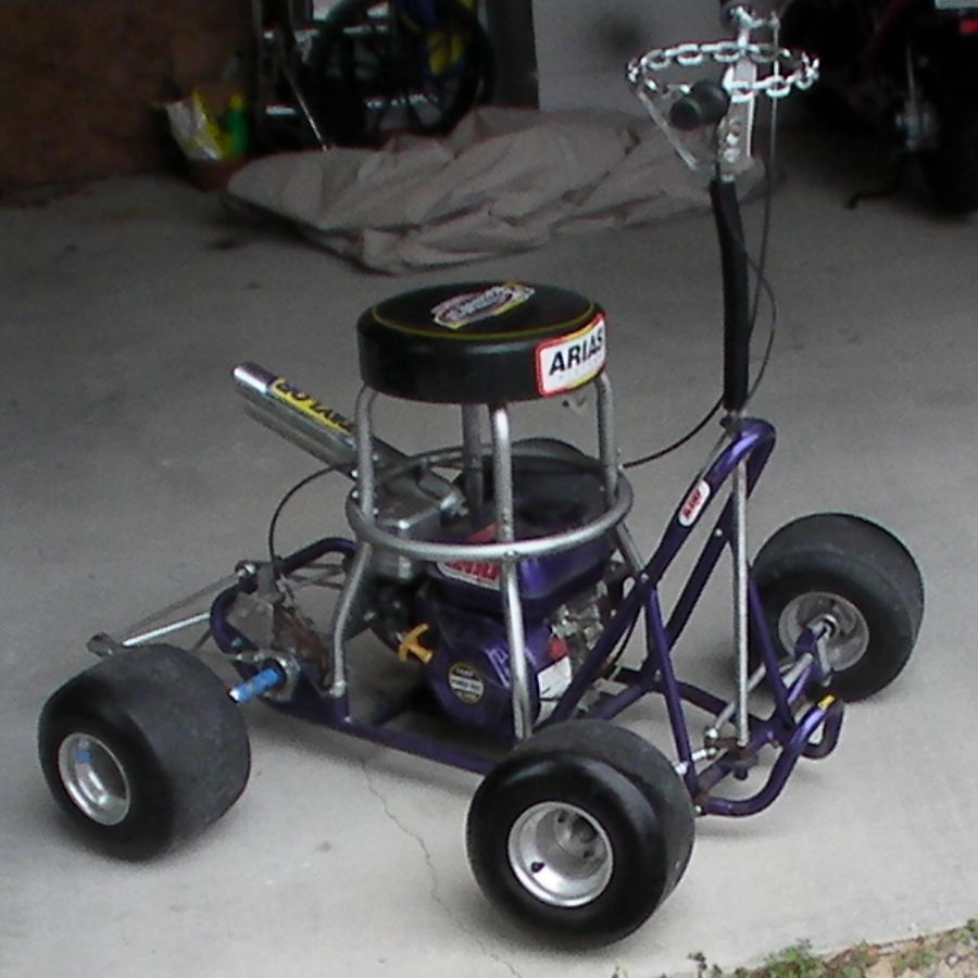Bar Stool Racer This Thing Is Scary Big Airbrush