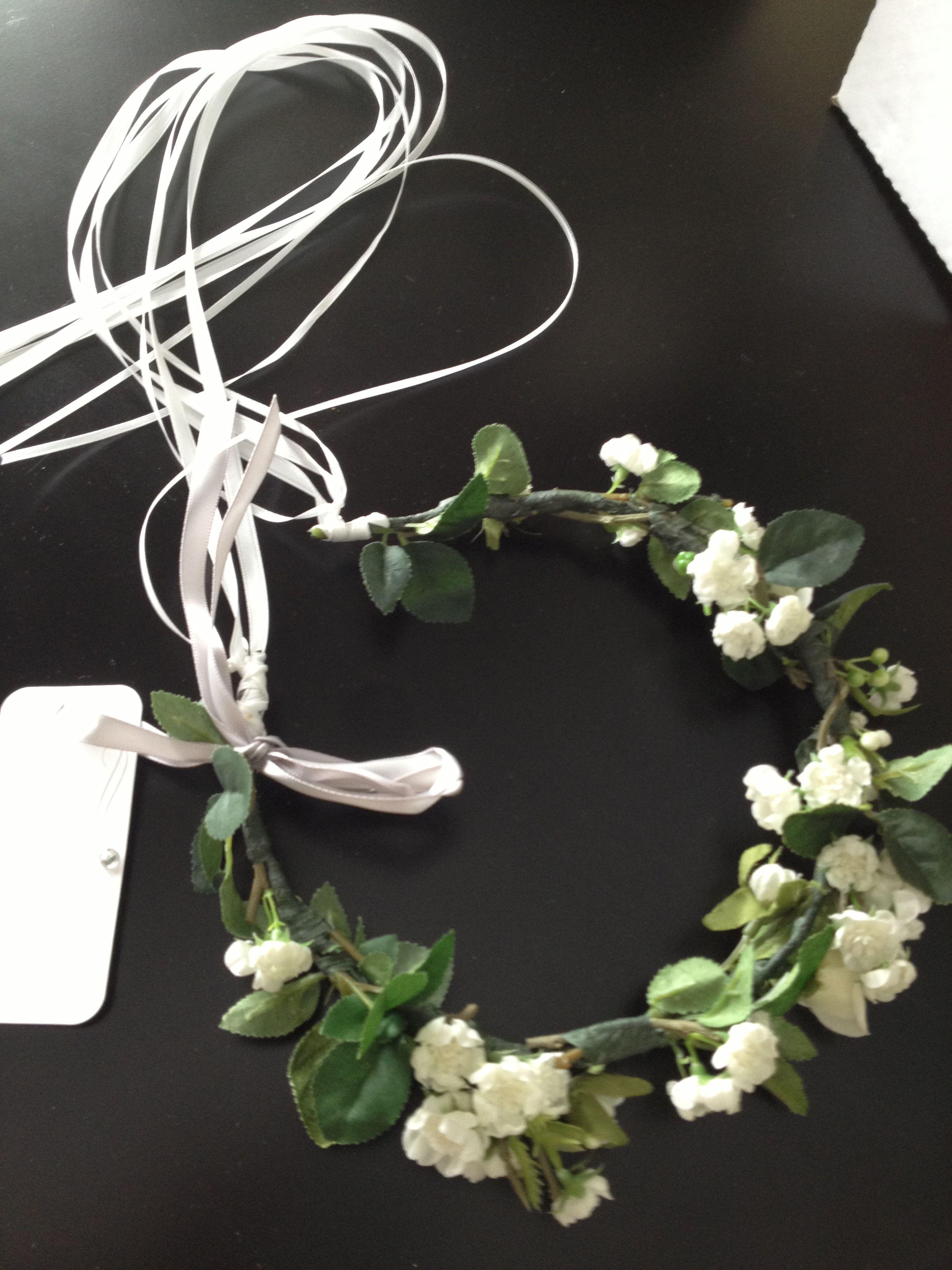 Flower Girl 39 S Halo 2013 Weddings Pinterest