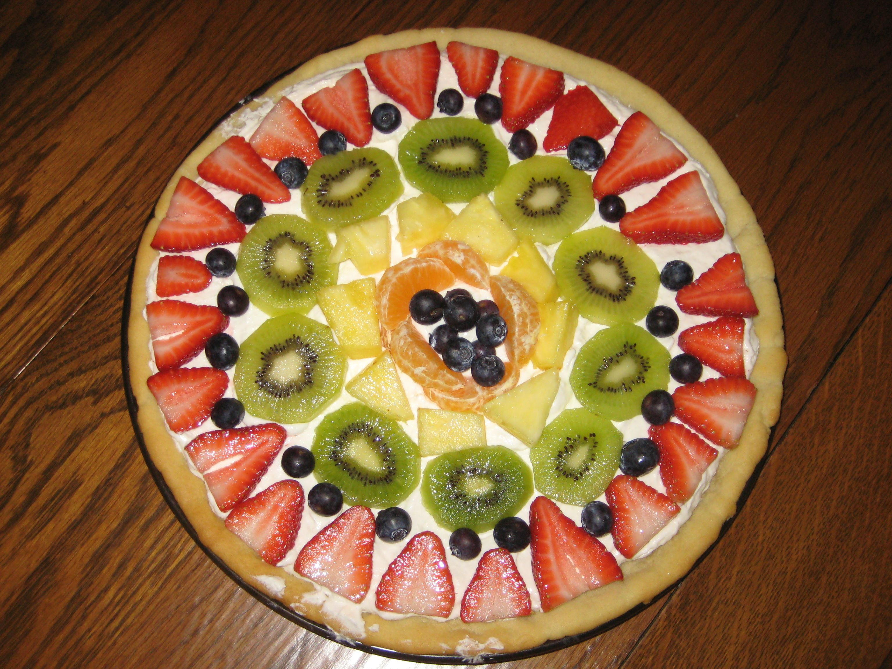Fruit Pizza | Recipes 1 of 6 boards of recipes | Pinterest