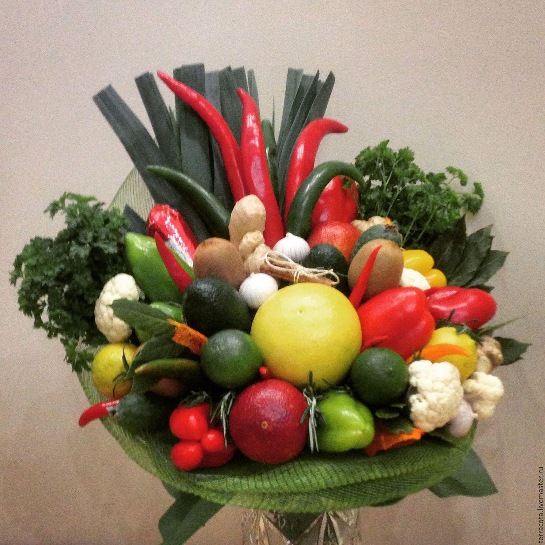 Как сделать букет из овощей своими руками 64