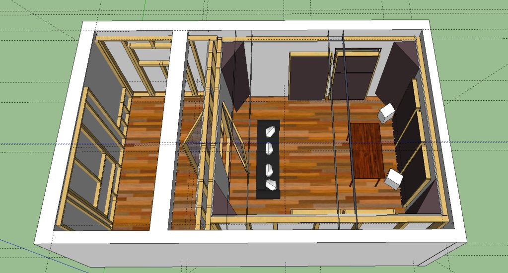 Home recording studio plan dream house pinterest for Home studio plans