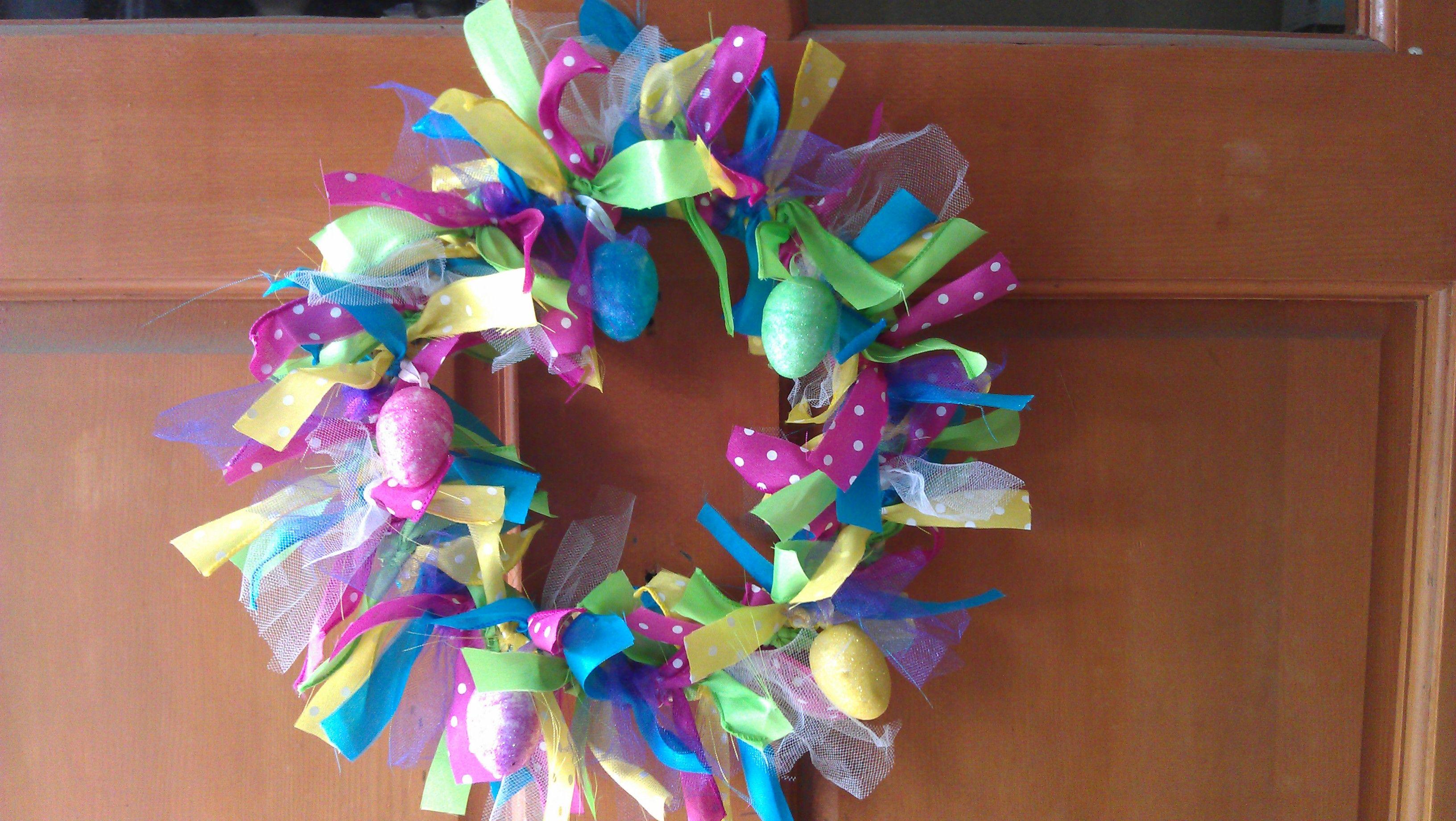 Easter Wreath Craft Ideas Pinterest
