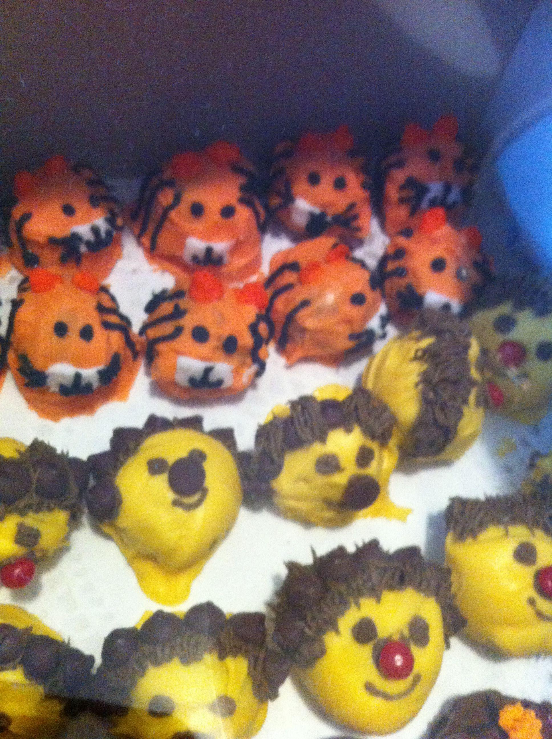 Halloween cake balls | cakes | Pinterest