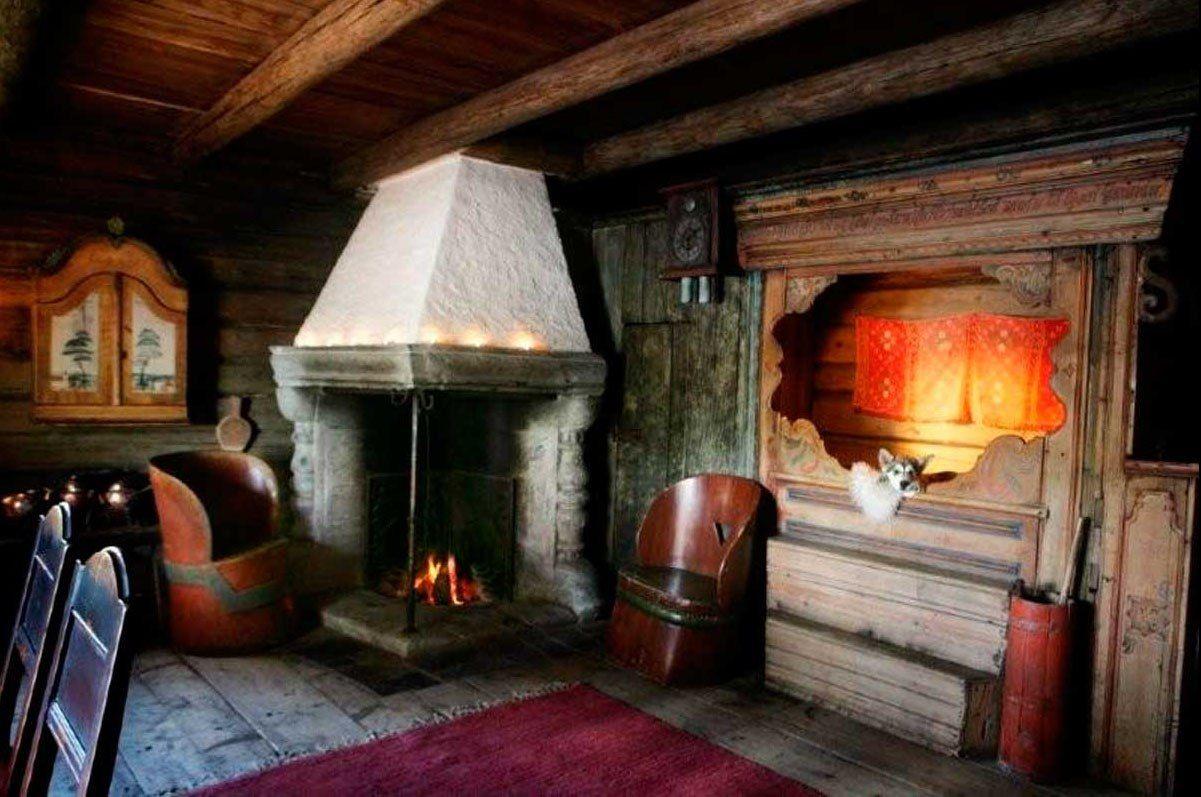 Old Norwegian interior  Norway , Sweden, and Finland  Pinterest
