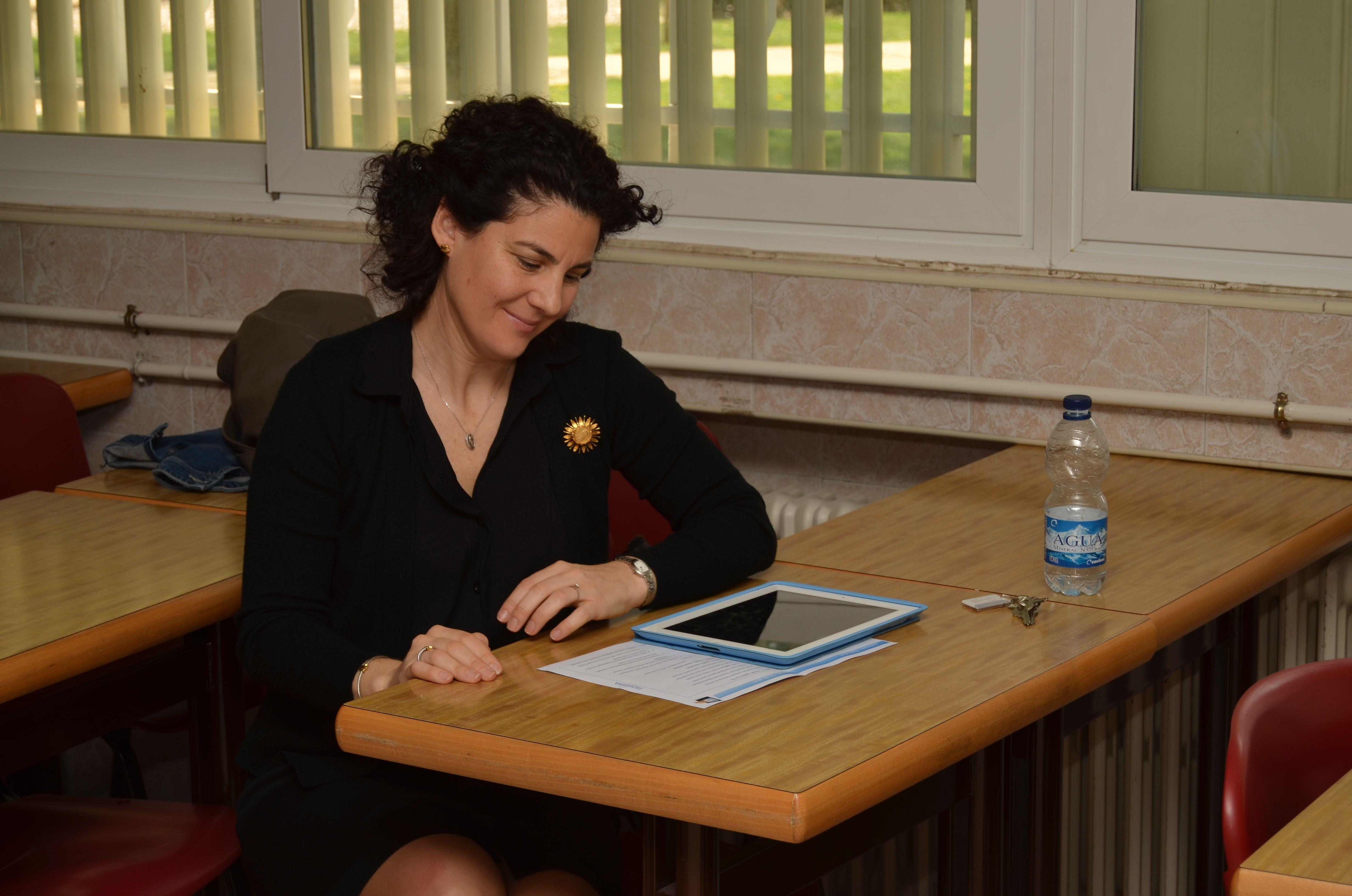 Soraya García, el blog en el aula