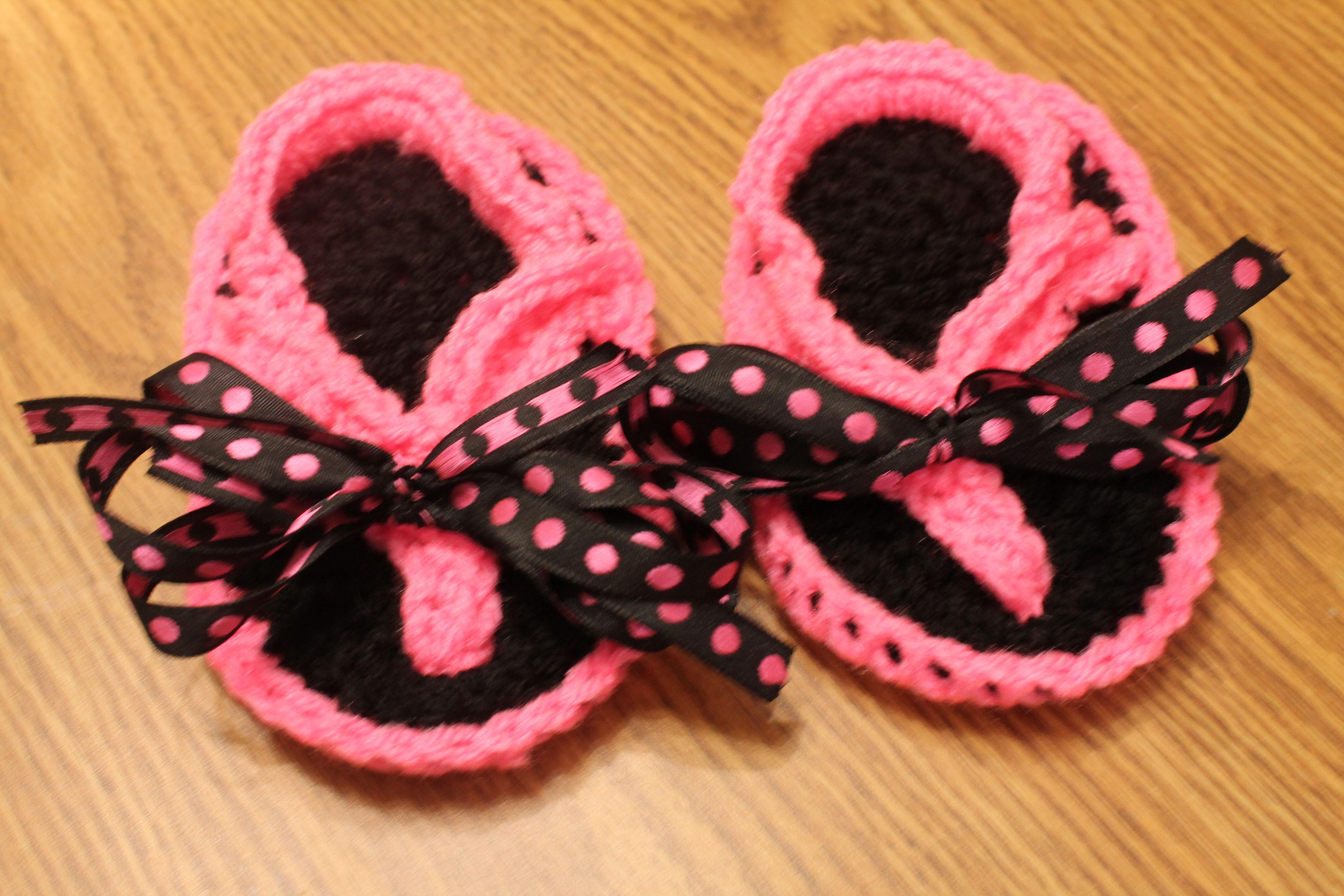 Crochet Flip Flops Crochet Pinterest
