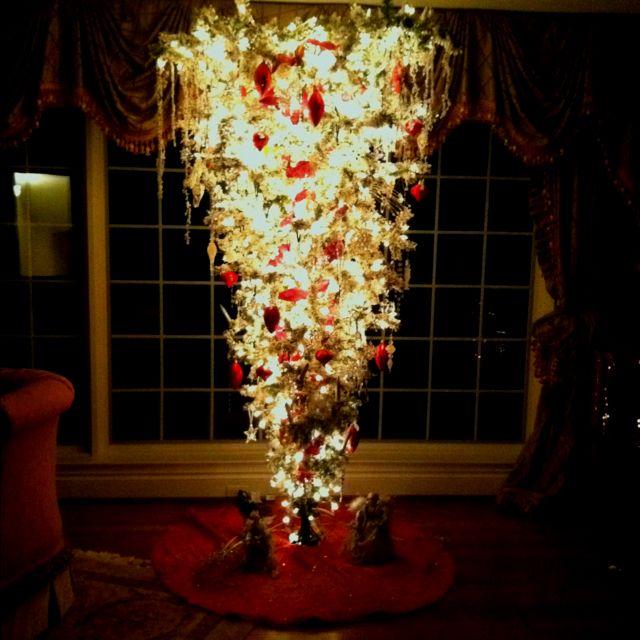 Upside down christmas tree xmas pinterest - Why upside down christmas tree ...