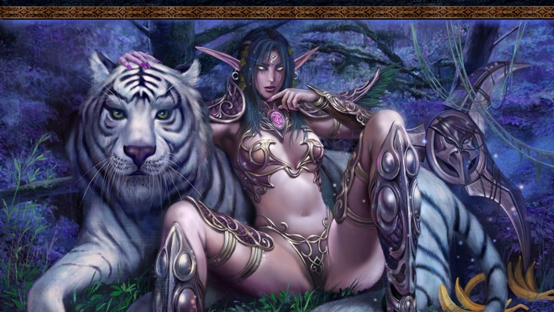 Nude night elf with big hairy pussy sex videos