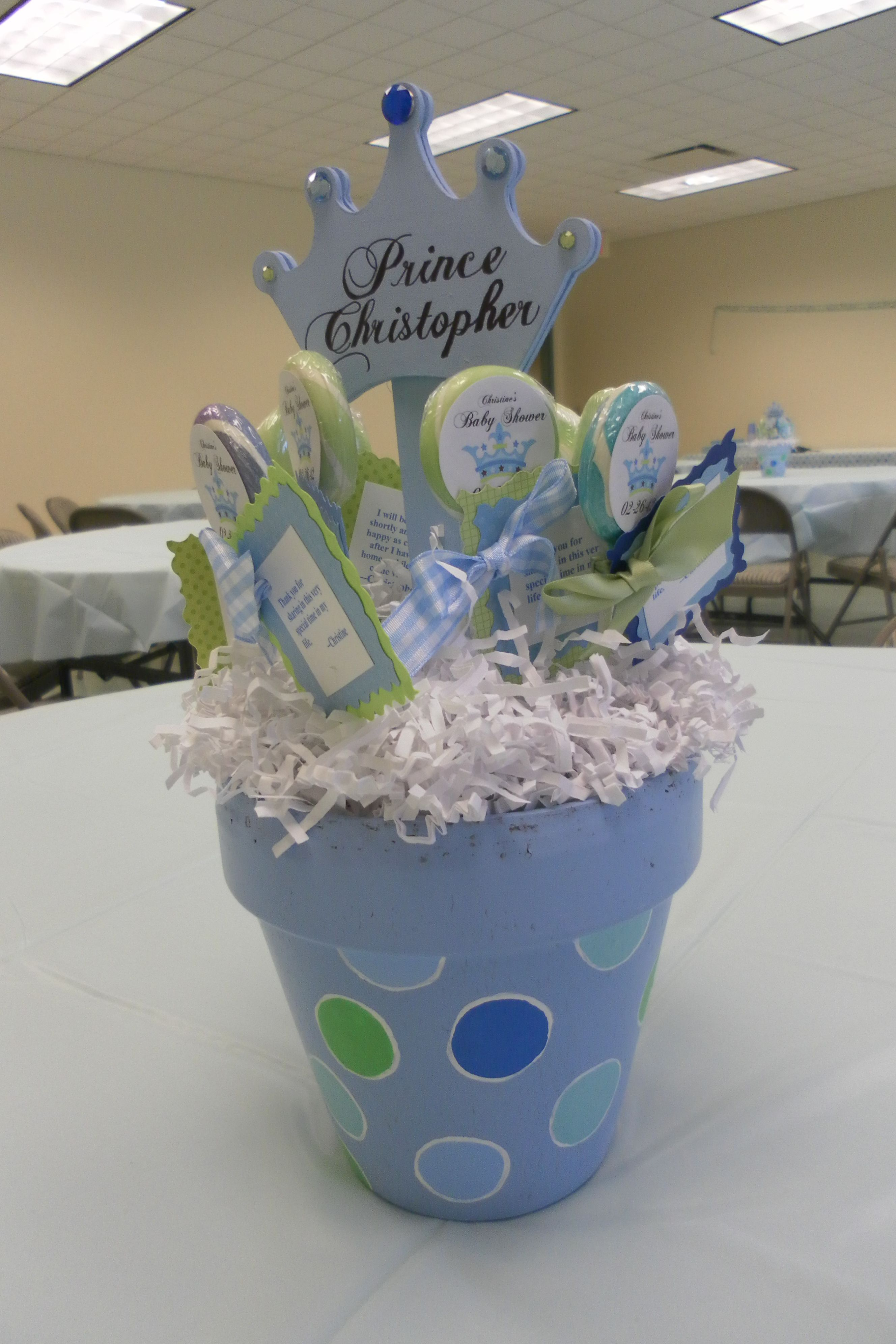 baby shower centerpieces things to remember for baby boy pinter