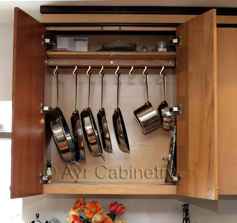 Kitchen Organization Ideas For Pots And Pans: Pinterest: Discover And Save Creative Ideas