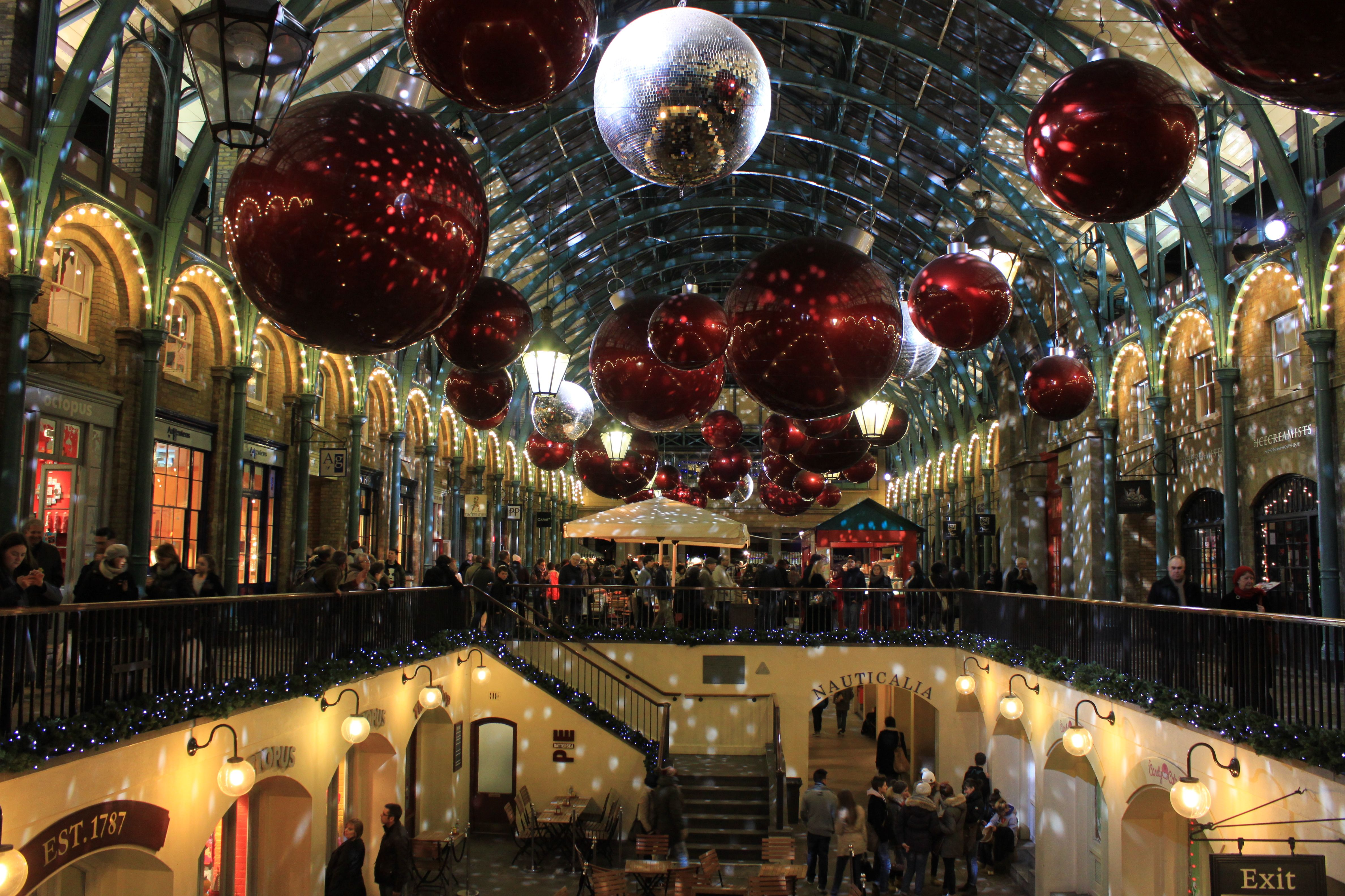 London market place during christmas places i want to for Best places to visit during christmas