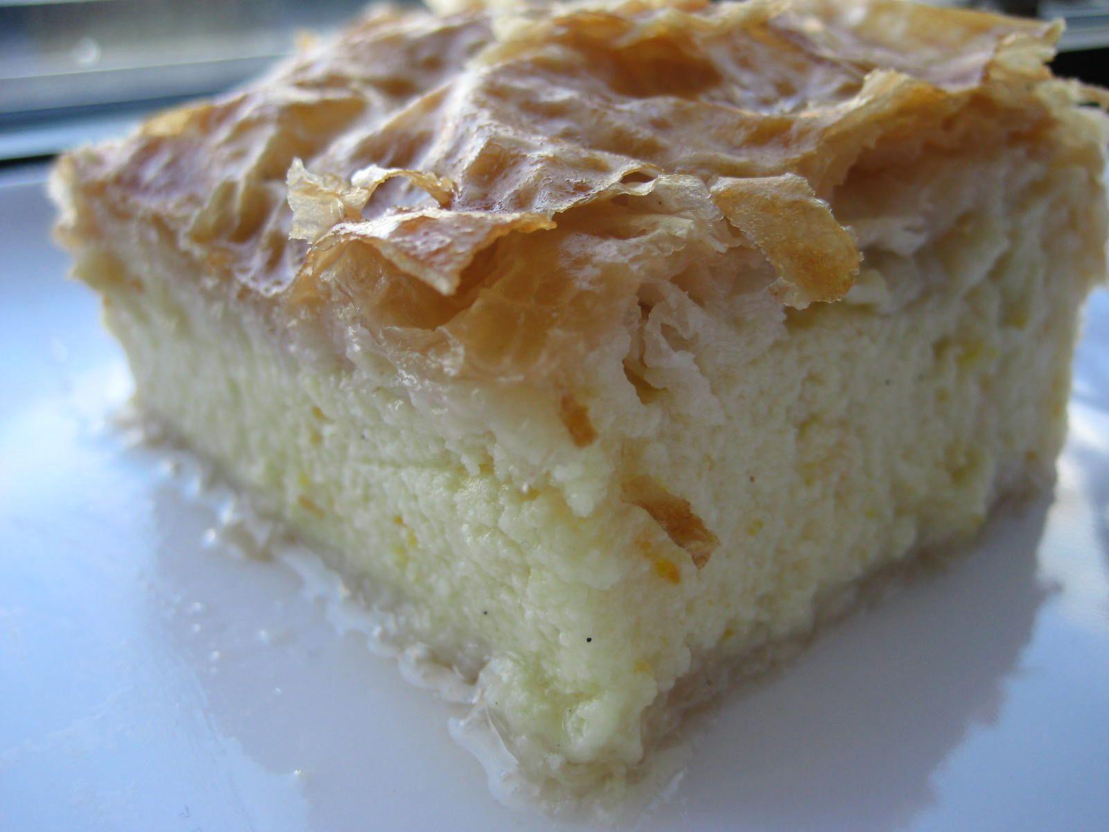 Lemon Semolina Custard In Phyllo Recipe — Dishmaps