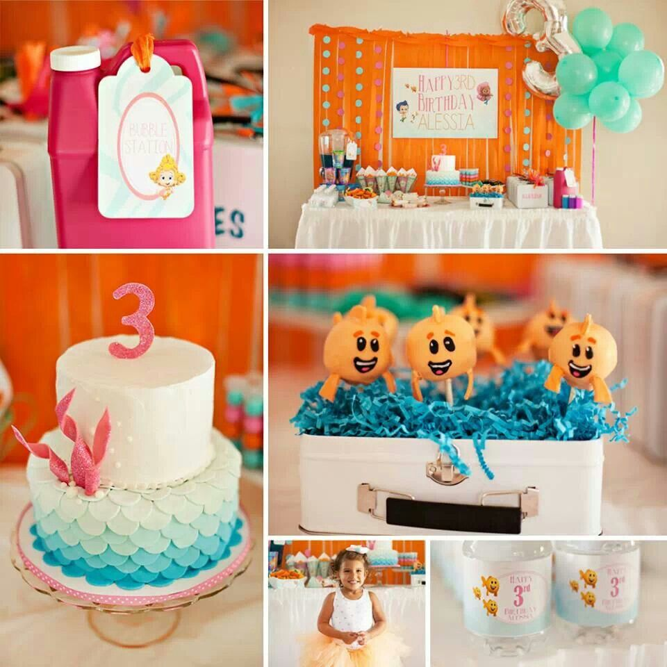 Bubble guppies cake birthday number 2 pinterest - Bubble guppie birthday ideas ...