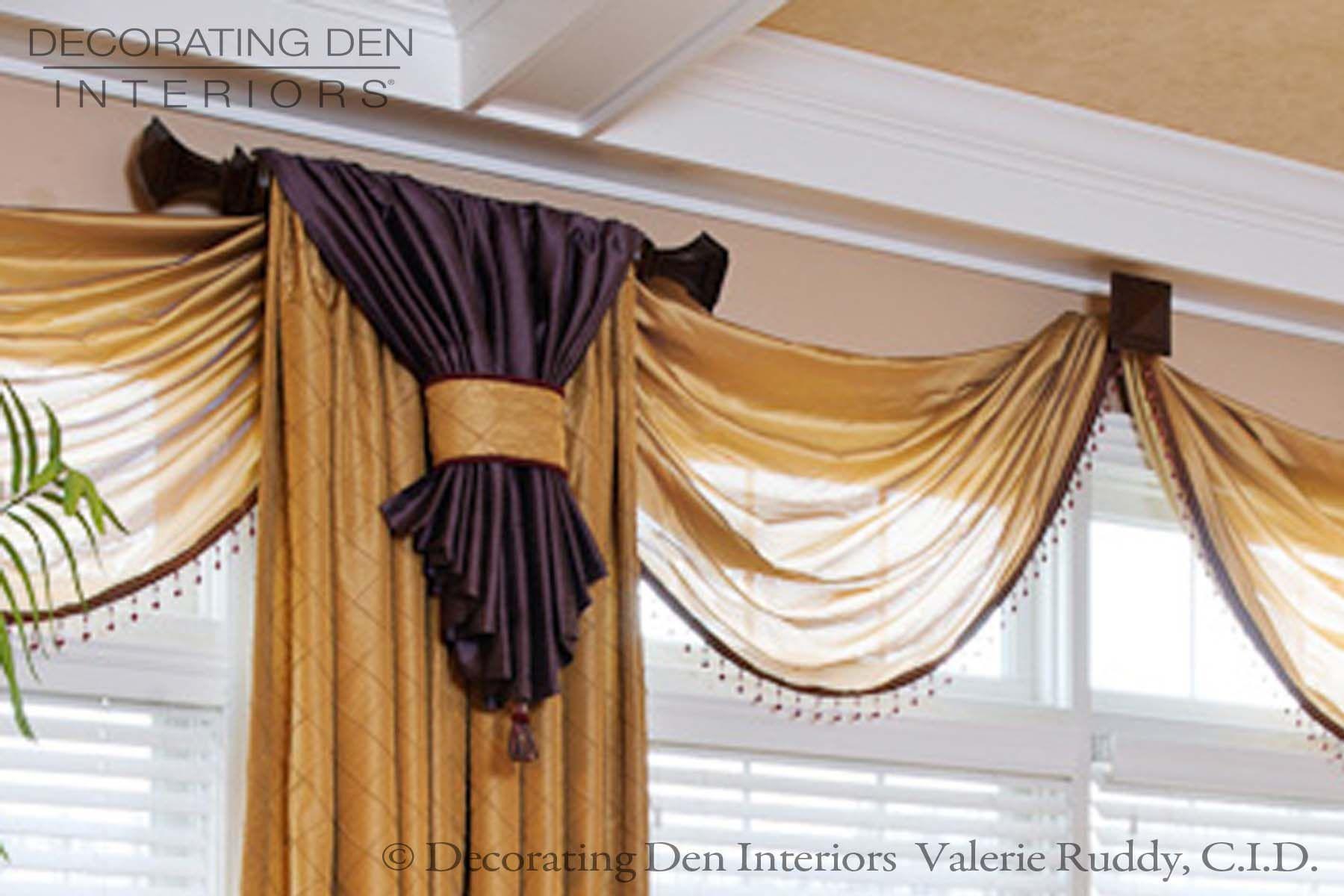 Elegant Family Room Window Treatments Home Sweet Home
