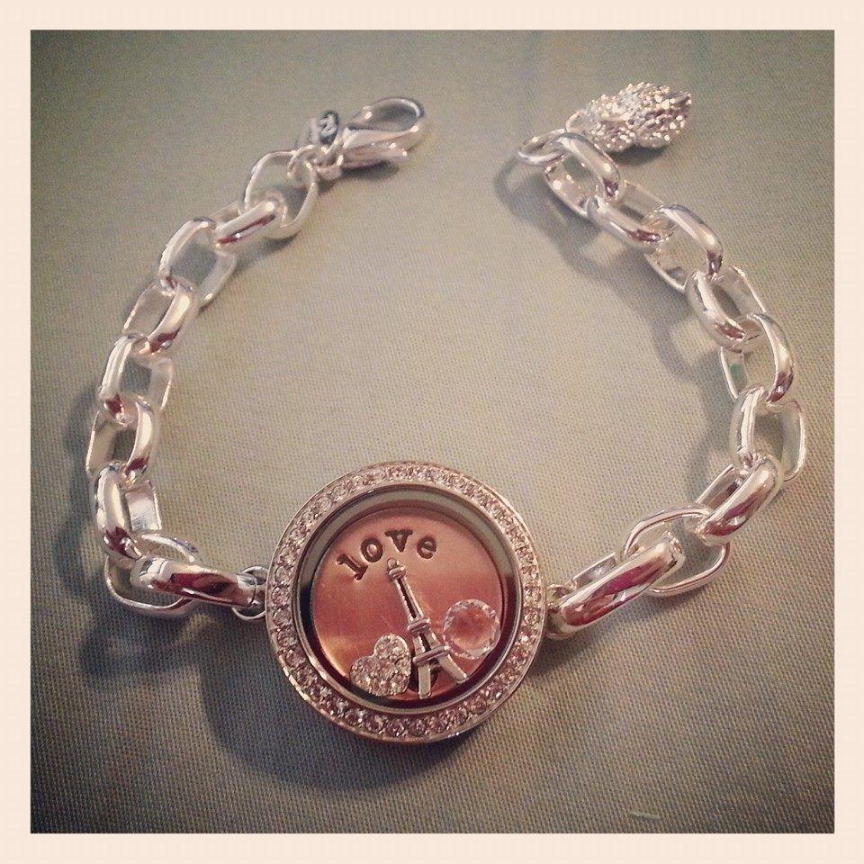 love my new origami owl bracelet