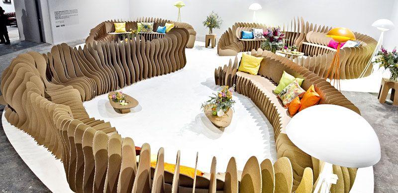 Muebles de cart n reciclado de uso infinito pinterest - Muebles de carton ...