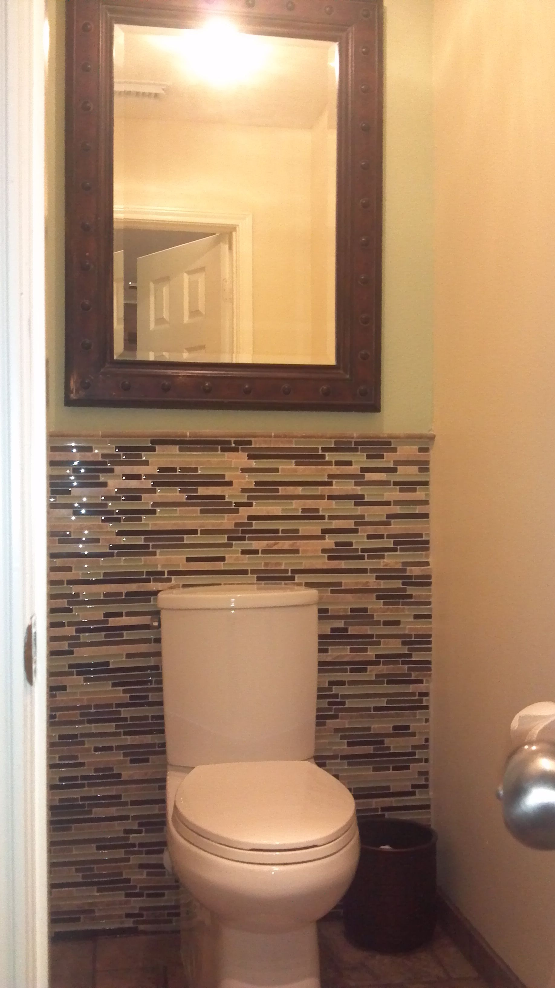 Water closet decorating the castle pinterest - Wall wardrobe with bathroom behind pictures ...