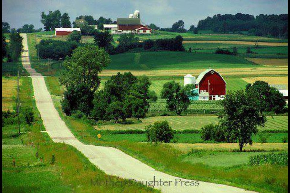 Farm country barns pinterest for Ranch and rural living