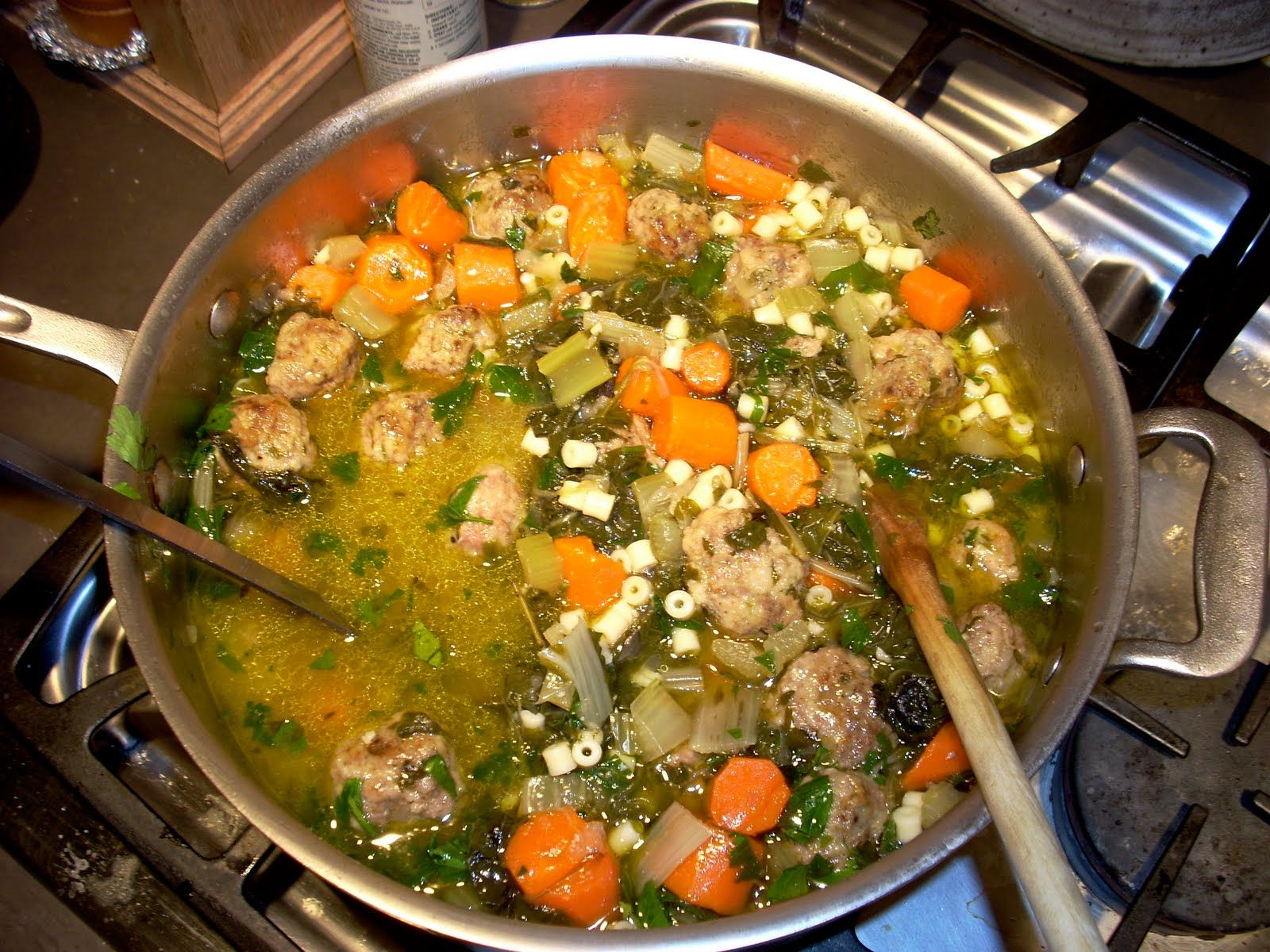 italian wedding soup | Simply Delicious | Pinterest