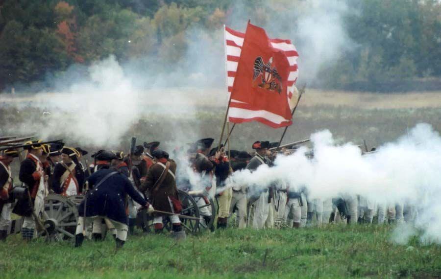 Battle of Saratoga | Grandma and grandpa | Pinterest