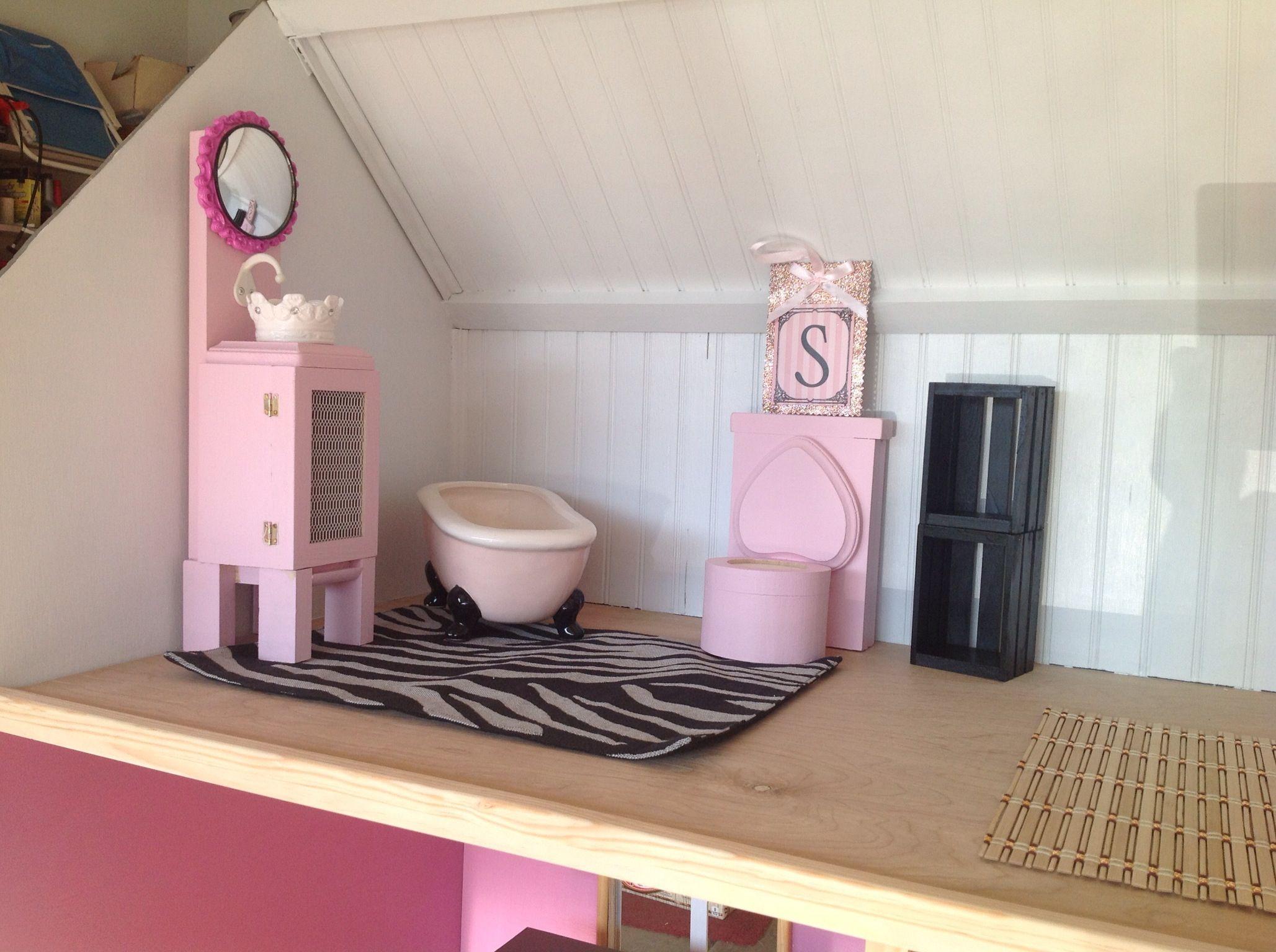 Bathroom American Girl DIY American Girl Dolls Crafts Pinterest