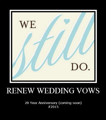 Renewing Your Vows Years Later