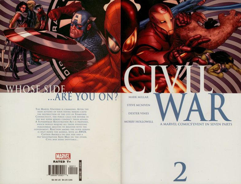Civil War 2 Incredible Ic Covers Pinterest