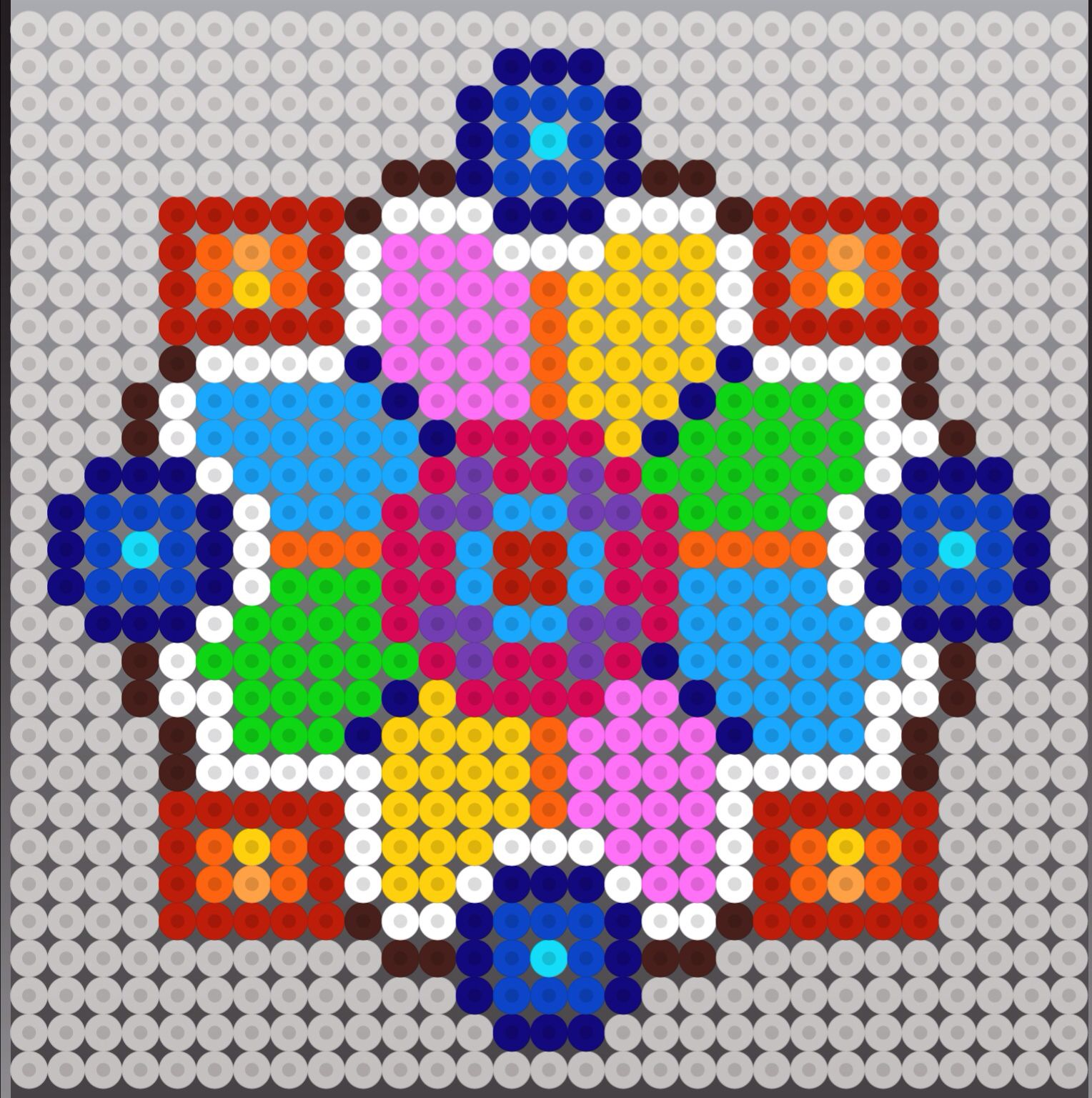 perler bead design pattern hama designs