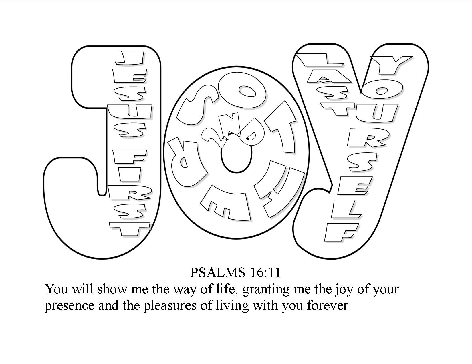 joy coloring pages for kids - photo#1