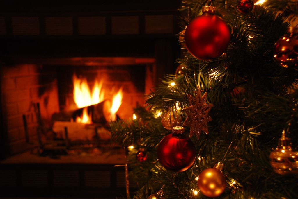 Christmas Fireplace Wallpaper Eternal Sunshine Pinterest