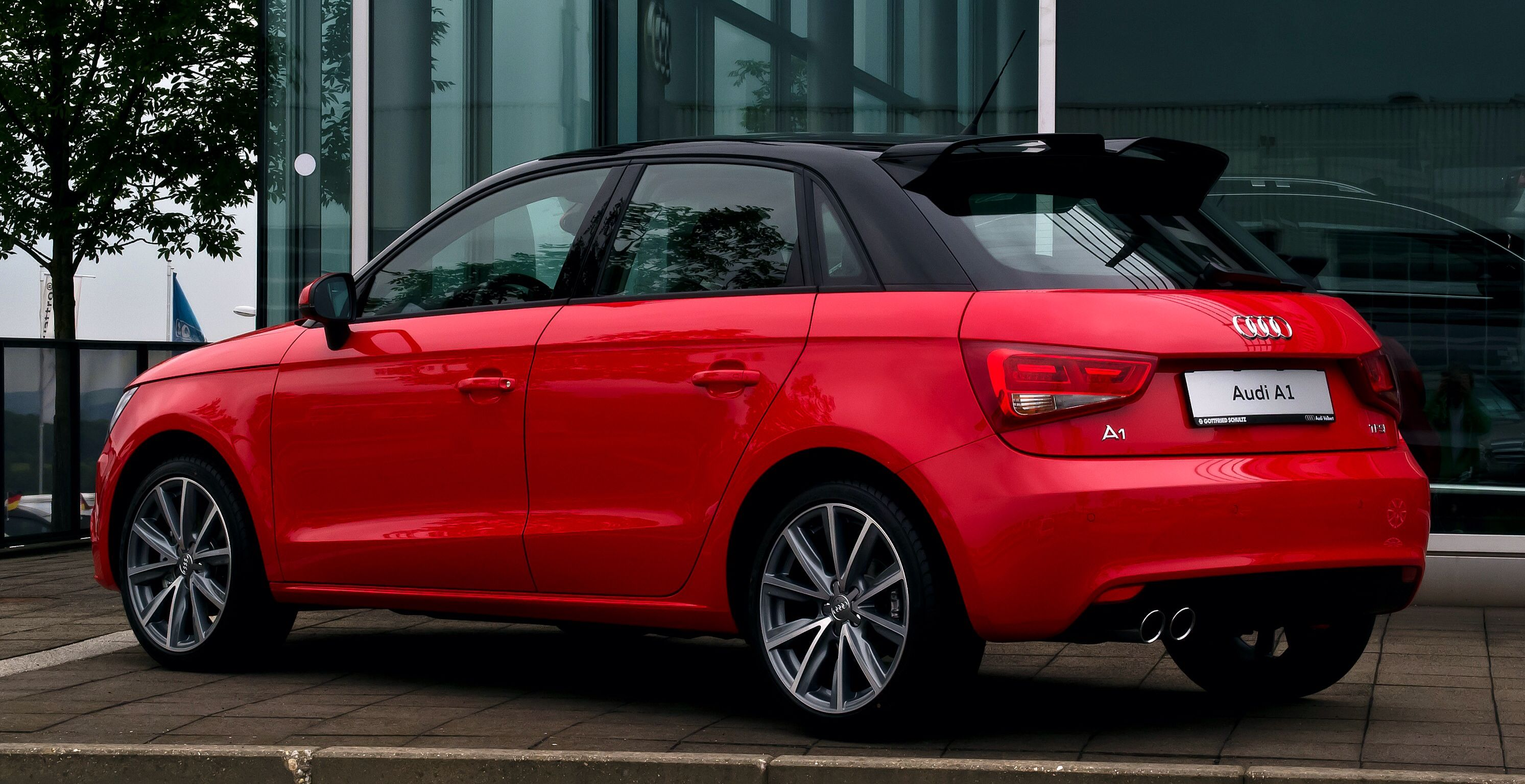Red Audi A1 Awesome Cars Pinterest