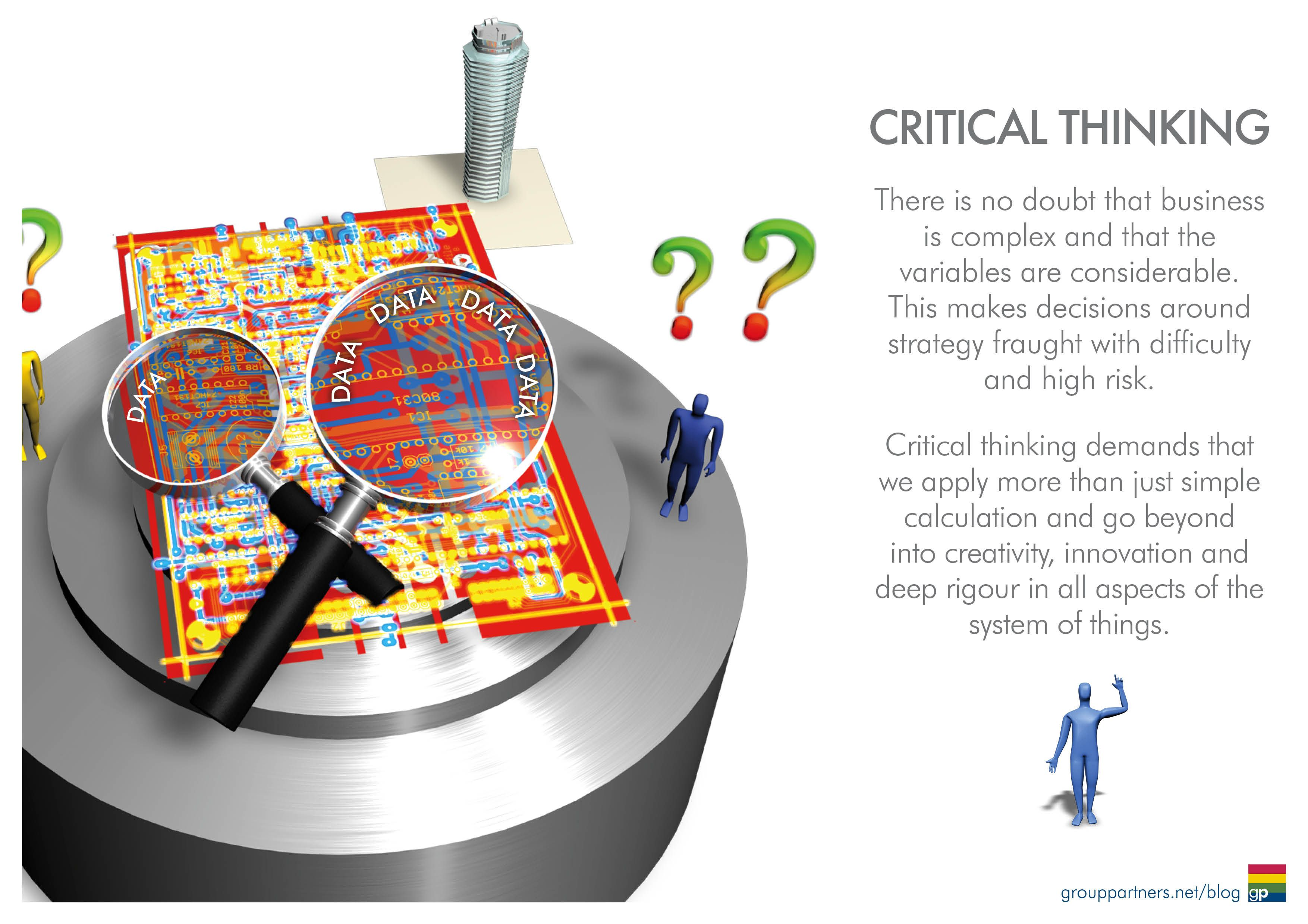 critical thinking includes a complex combination of skills Research says / creativity requires a mix of skills to solve complex problems—such as teaching students generic critical-thinking skills that.