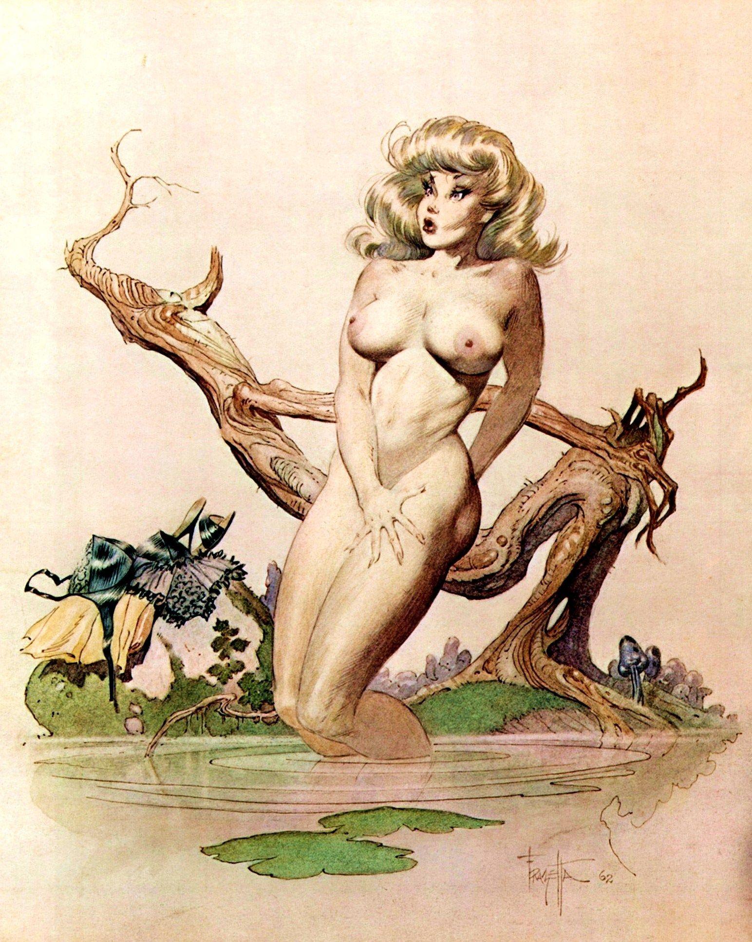 Erotic fantasy art free cartoon gallery