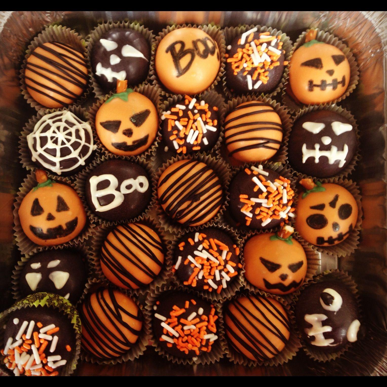 Halloween cake balls | Halloween ideas | Pinterest