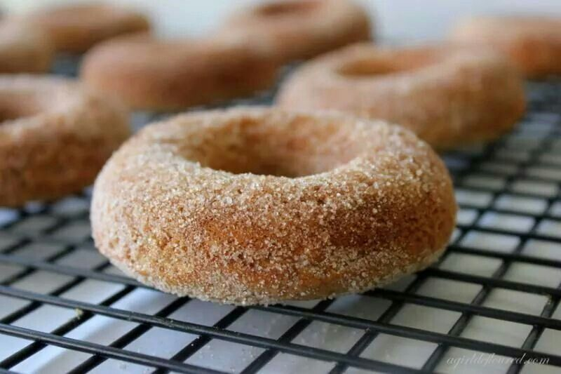 free apple cider donuts | Healthy living | Pinterest