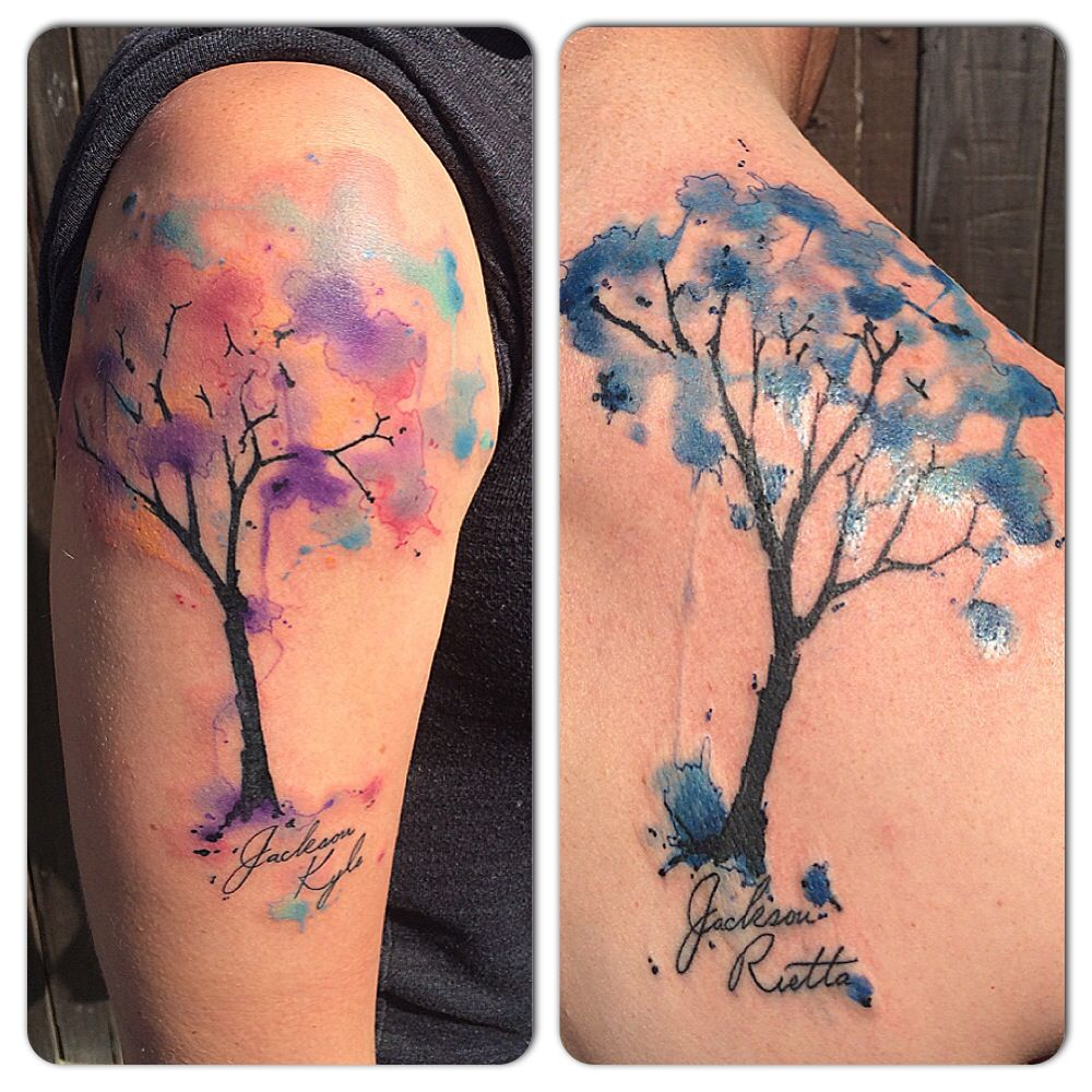 45 Inspirational Forest Tattoo Ideas  Art and Design