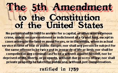 The Constitution and Your Criminal Rights, The 4th, 5th and 6th Amendments