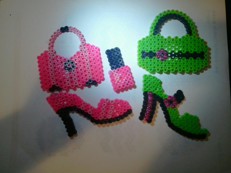 perler bead magnets craft ideas