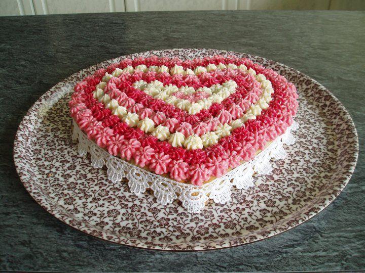 Торт сердечком своими руками 54